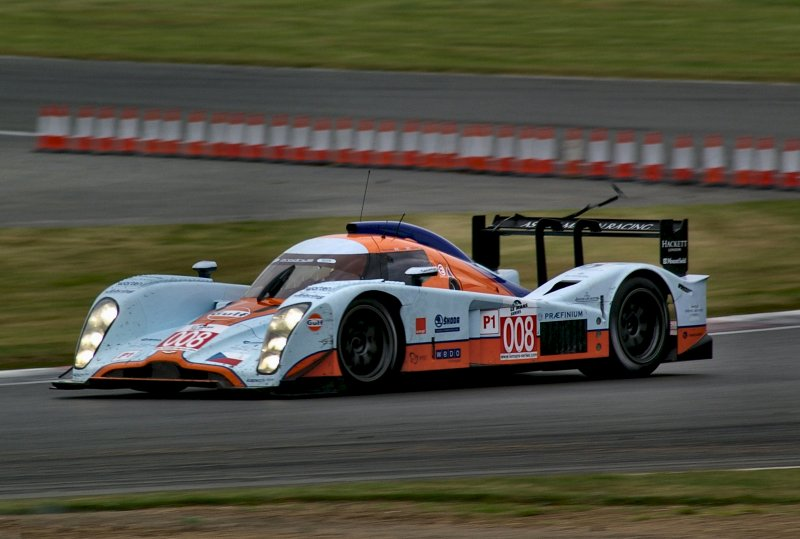 Works Lola Aston at Silverstone, 2009
