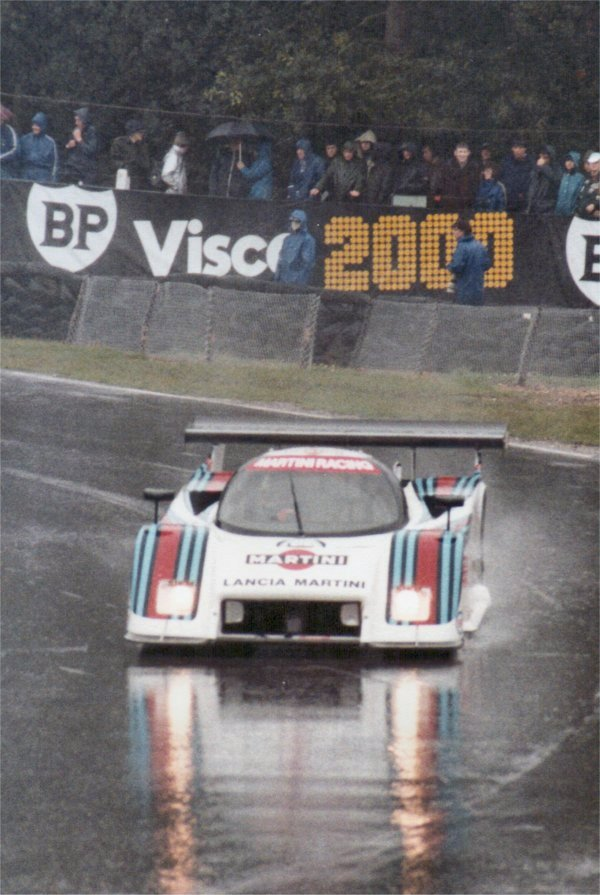 Lancia LC2 at Brands 1983