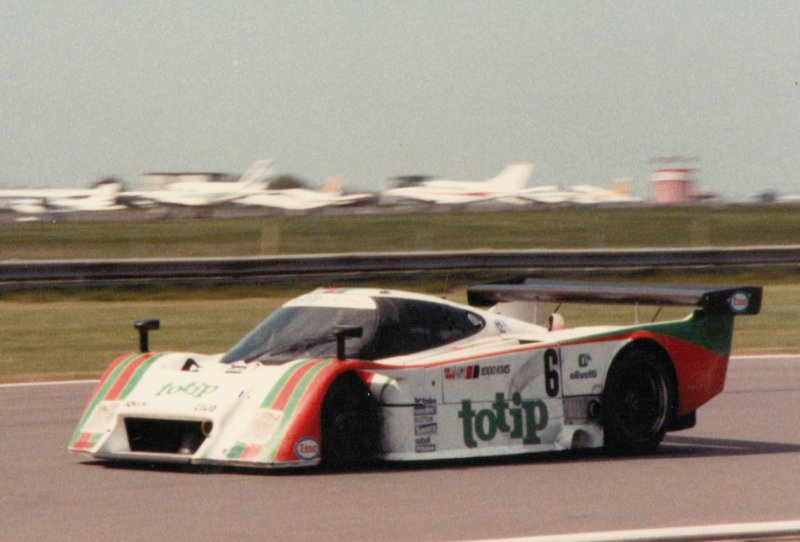 LC2 at Silverstone,1985
