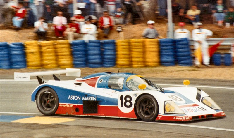 Aston AMR1 at Le Mans 1989